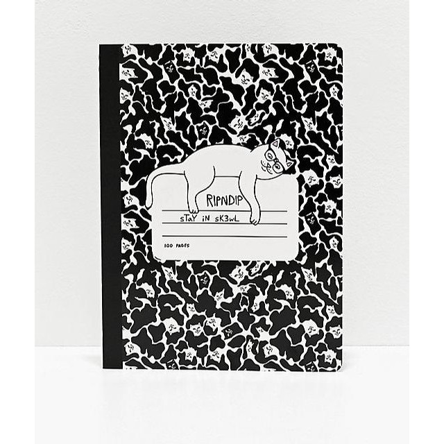 Stay in skewl composition book