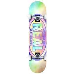 Oval Tie Dyes Skateboard Complete