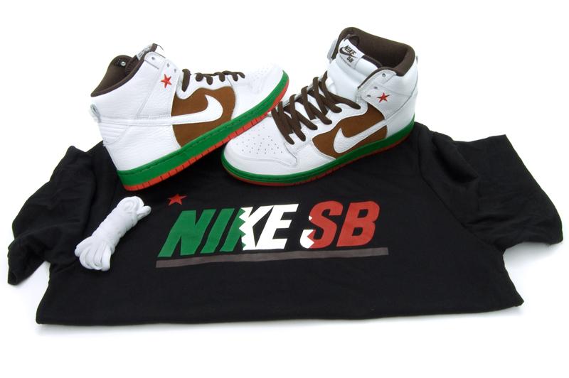 new concept baf4e 02b7d Nike SB   Dunk High Premium SB   Pecan White