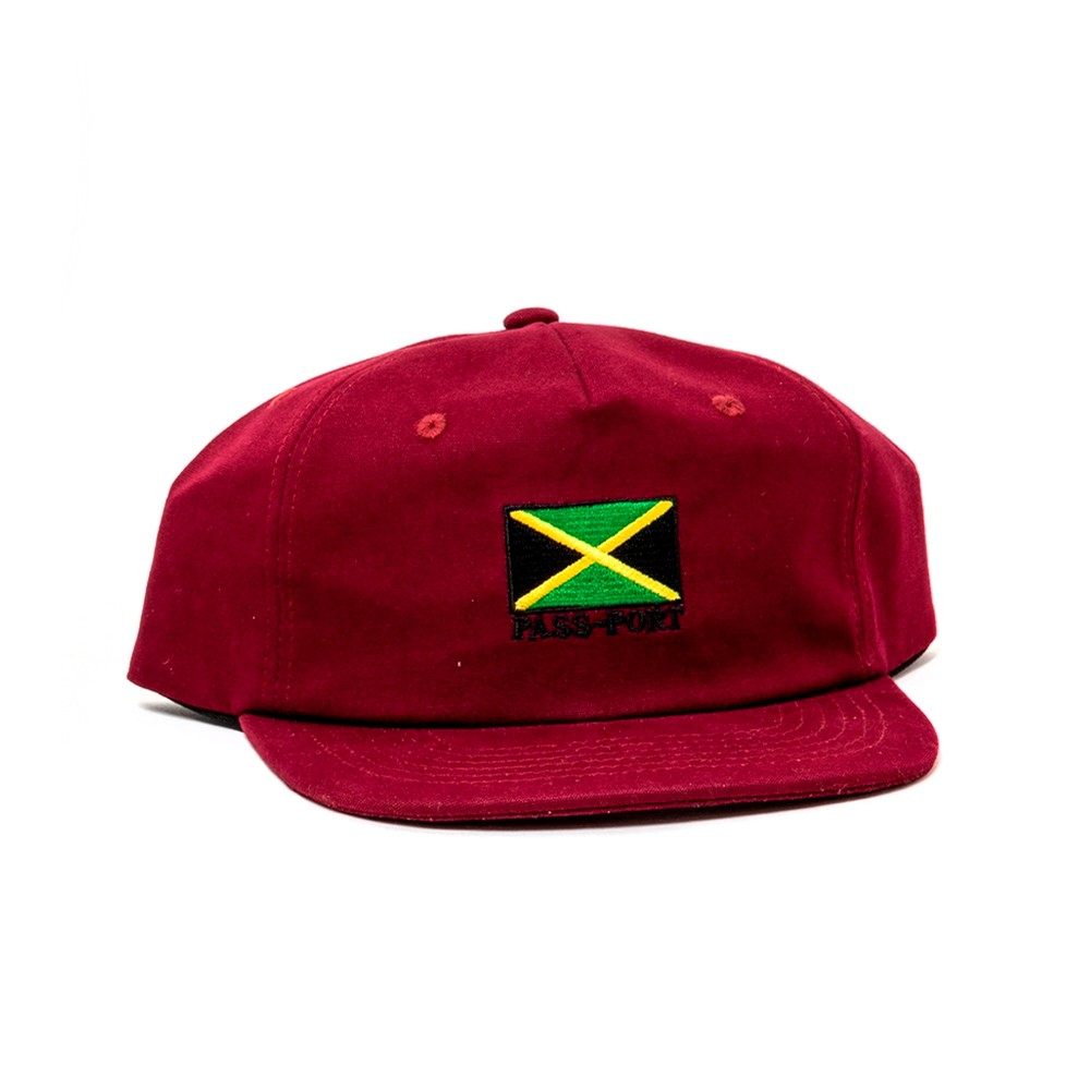 Jamaica Strapback (Maroon)