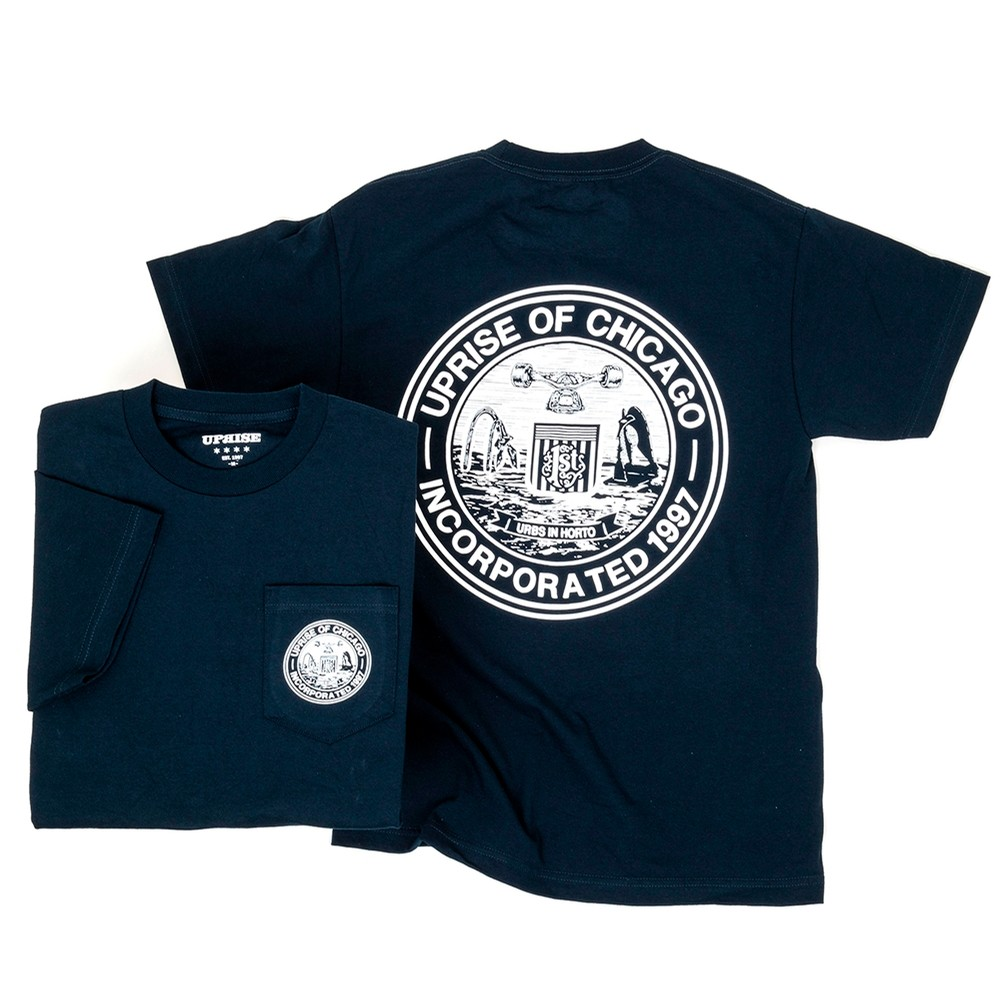 Incorporated Seal Pocket T-Shirt (Navy)