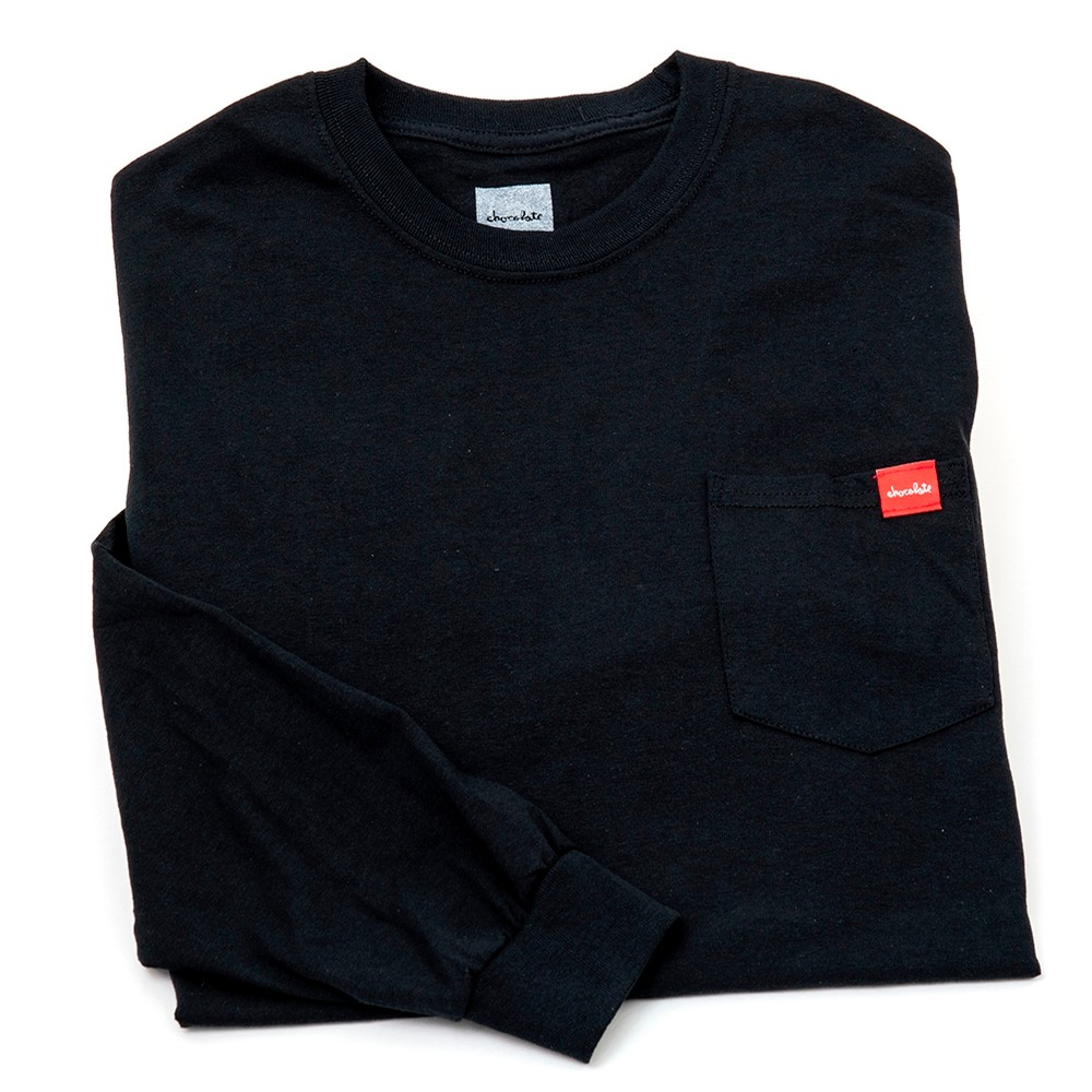 Couch Pocket L/S Tee (Black)