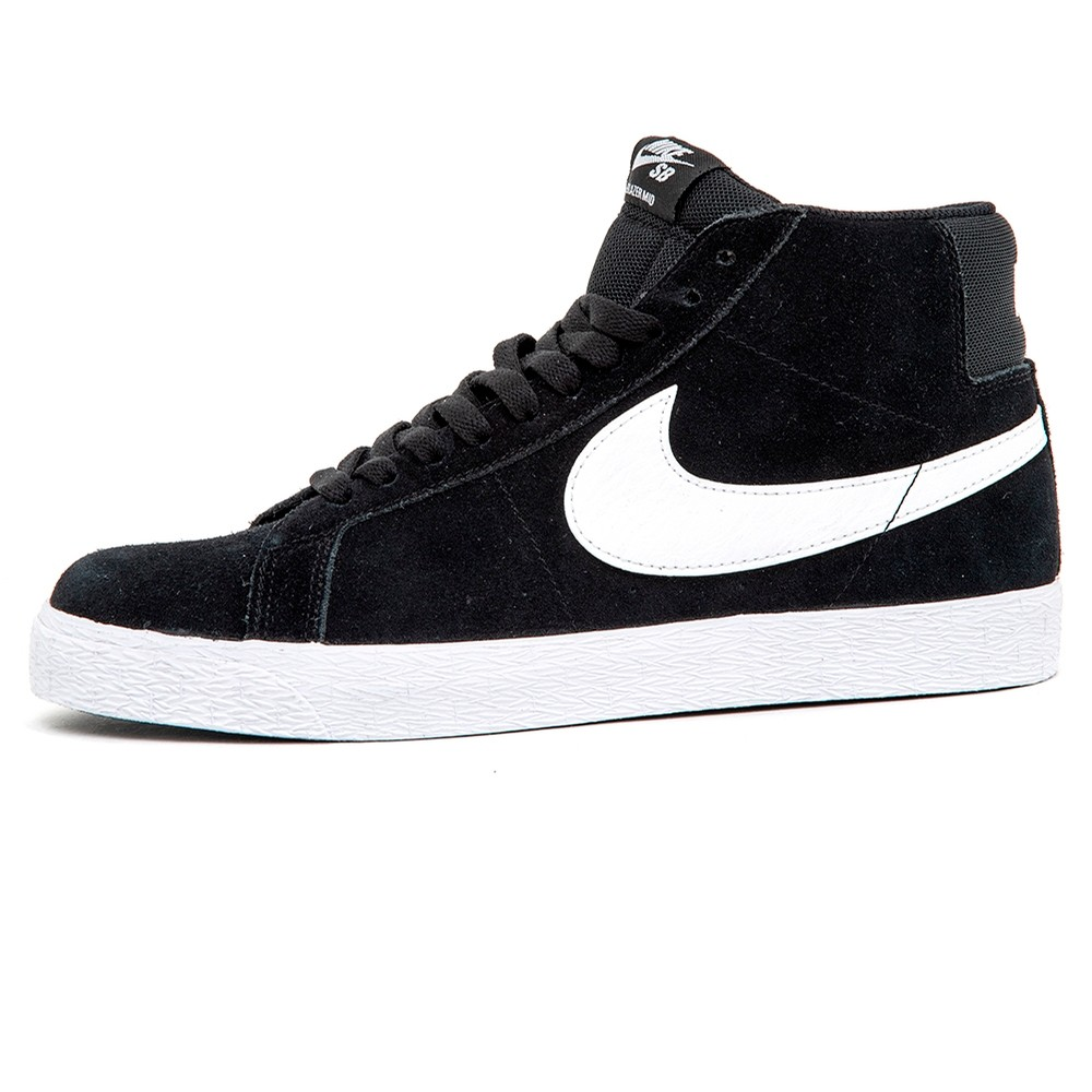 Nike SB Zoom Blazer Mid (Black / White)