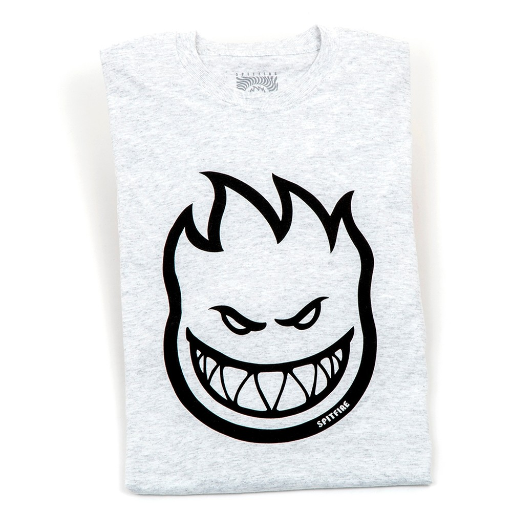 Bighead Longsleeve T-Shirt (Ash Grey/Black)
