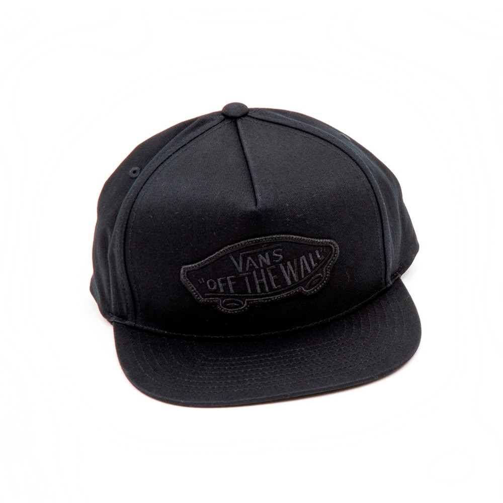 Classic Patch Snapback Hat (Black / Black) VBU