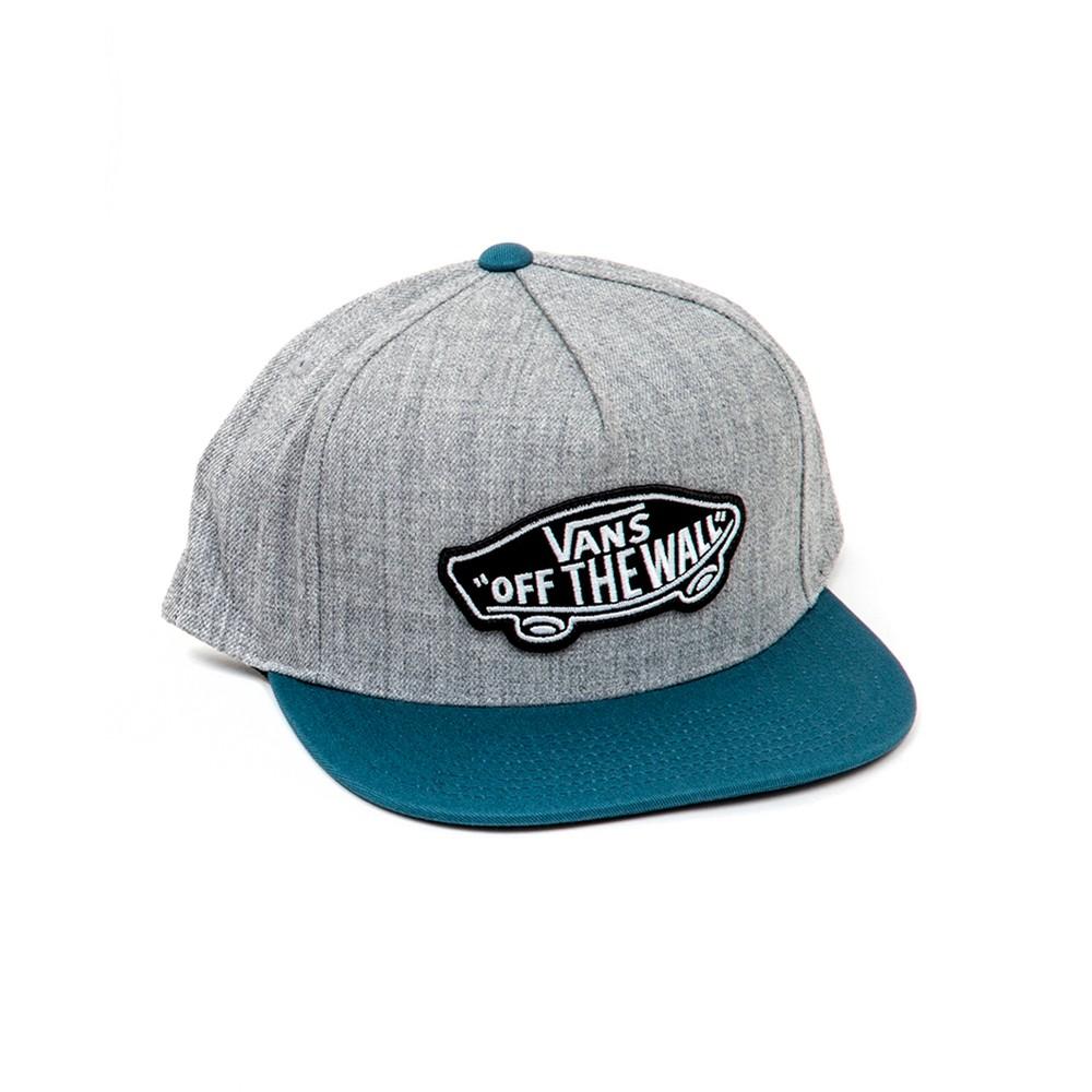 Classic Patch Snapback Hat (Heather Grey) VBU