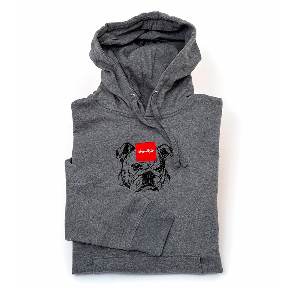 Big Dawg Pullover Hooded Sweatshirt (Athletic Heather Grey)