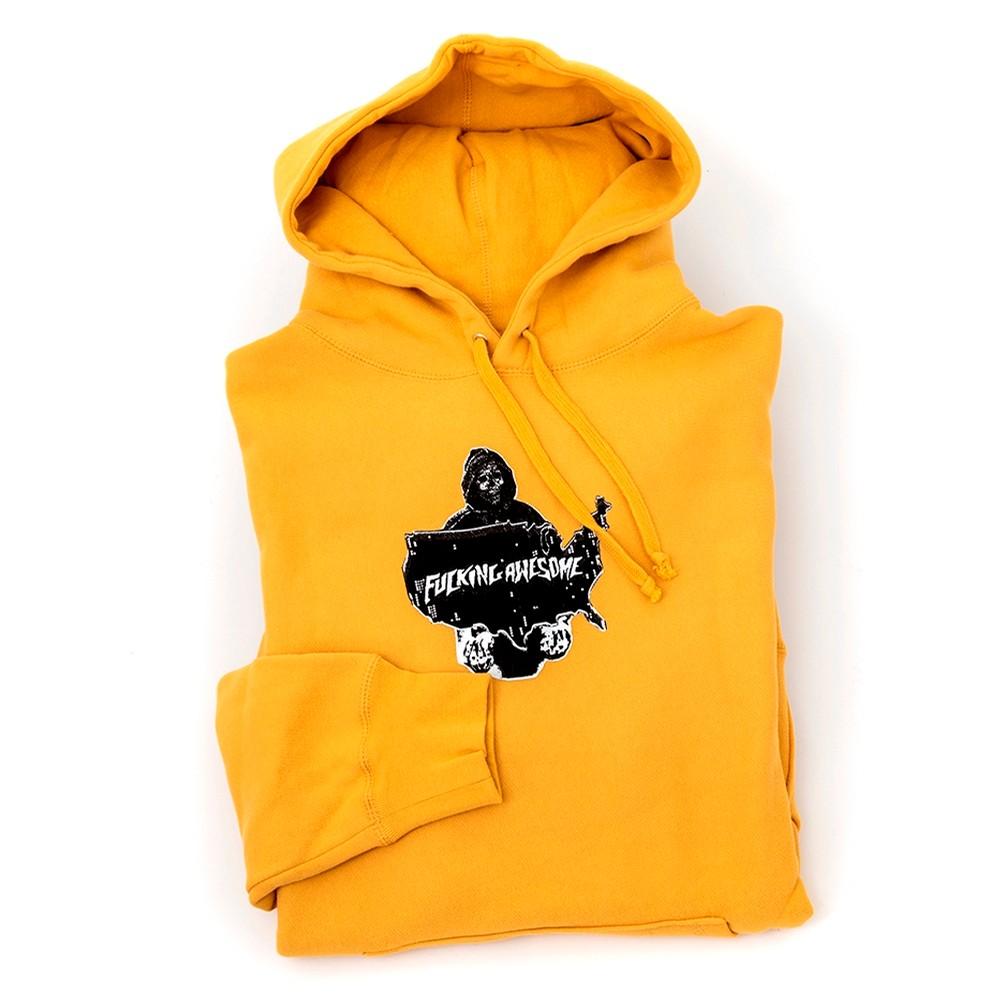 Reaper Hooded Sweatshirt (Mustard)