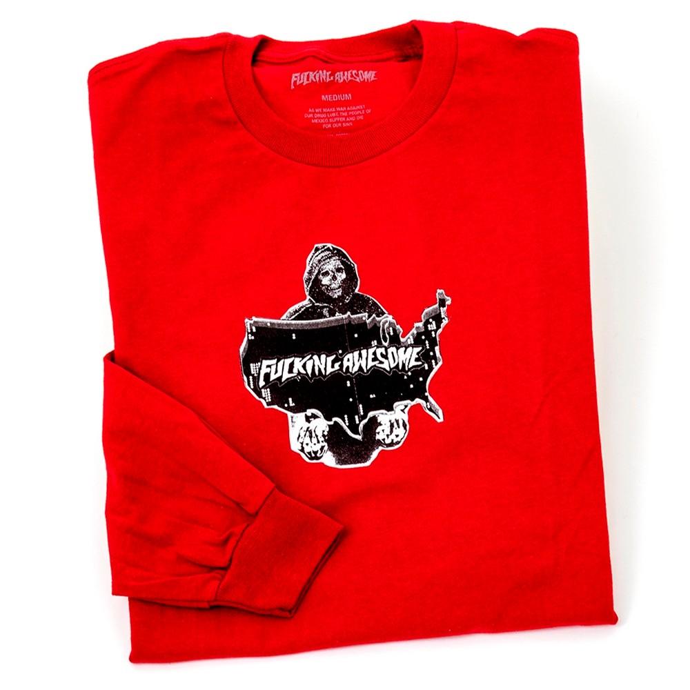 Reaper L/S T-Shirt (Scarlett Red)
