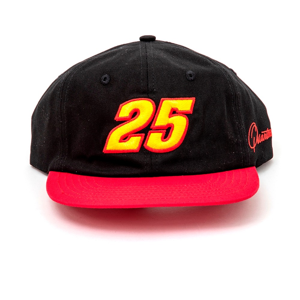 Racer Cap (Black/Red)