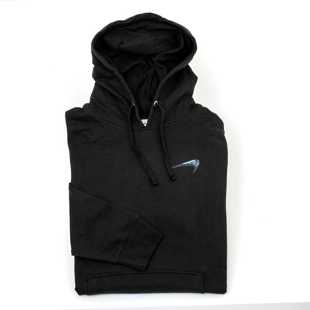 Glass Hooded Sweatshirt (Black)