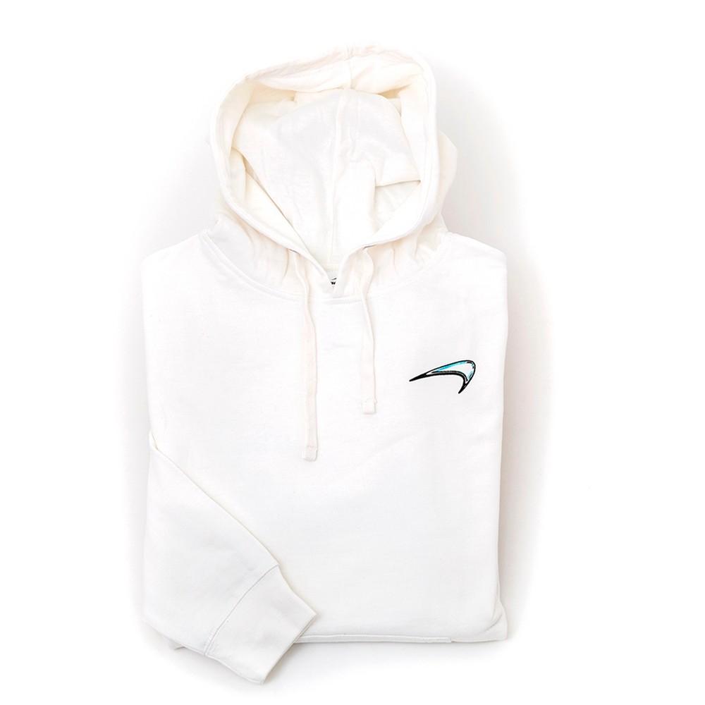 Glass Hooded Sweatshirt (White)