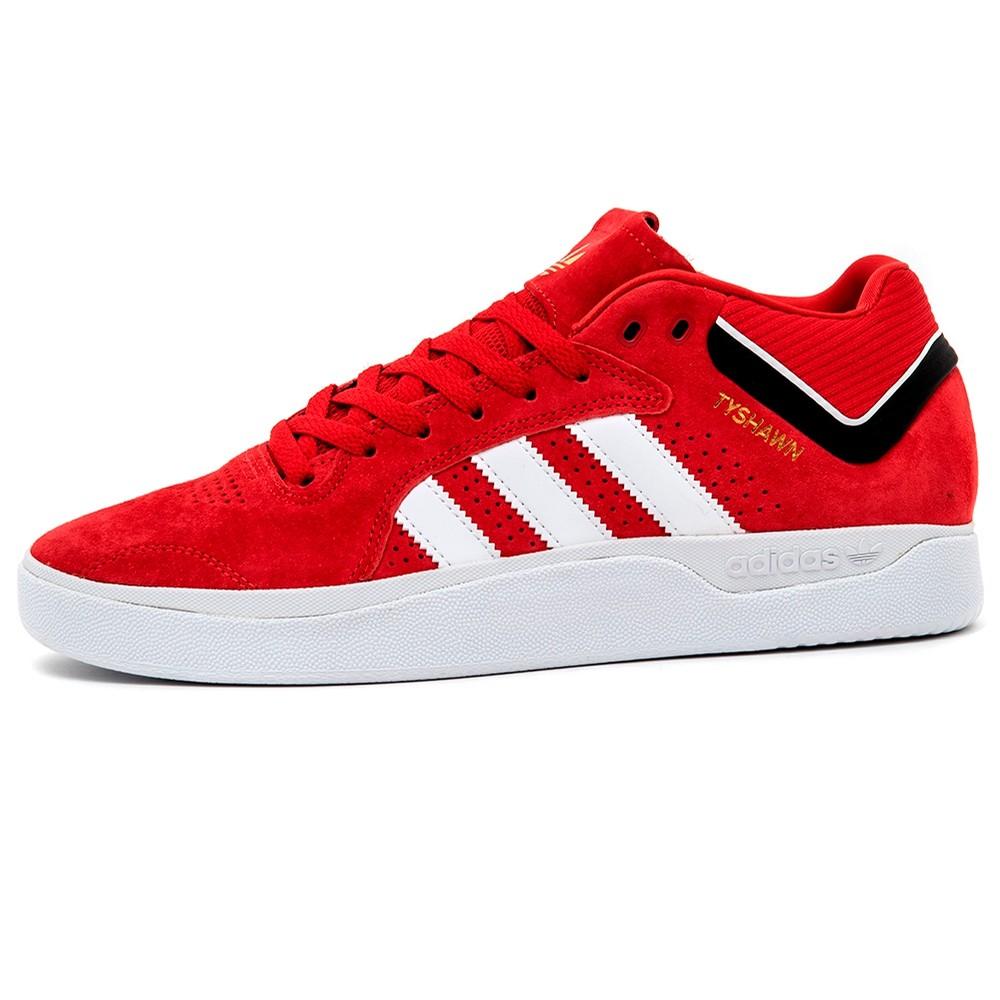 Adidas Tyshawn (Scarlet / FTWR White / Core Black)