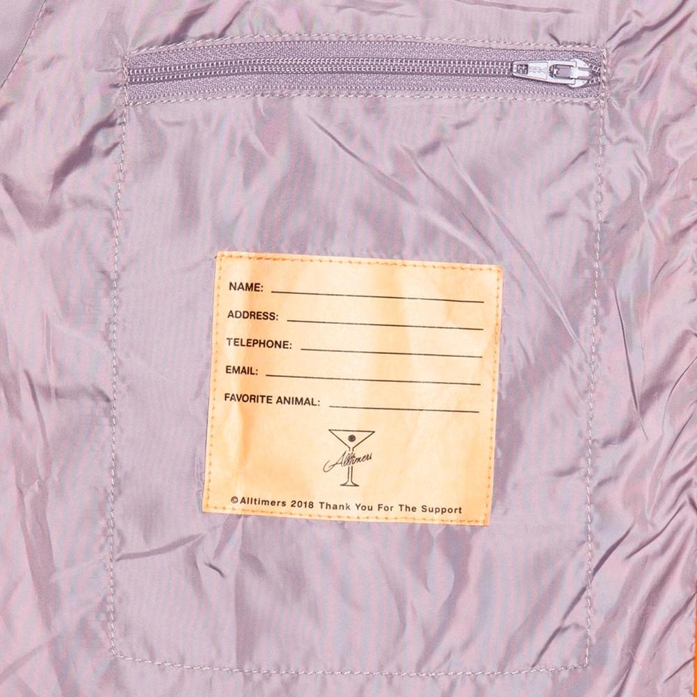 Finesse Coaches Jacket (Orange)