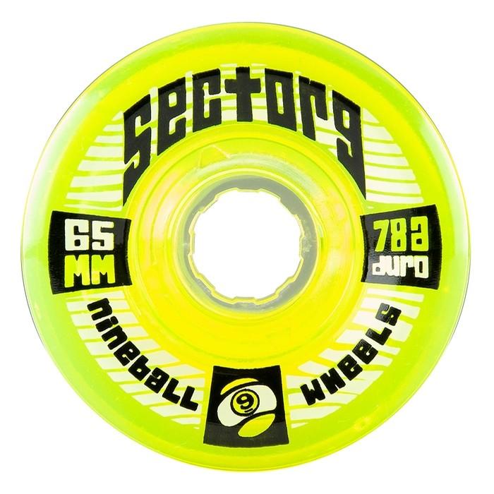 9 Balls 65mm 78a (Lime)