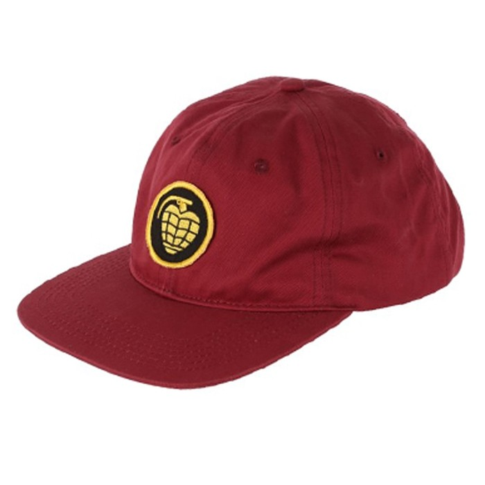 Grenade Patch Strap Hat