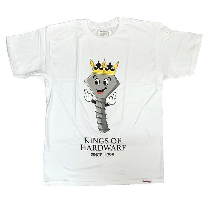 King Of Hardware Tee(White)