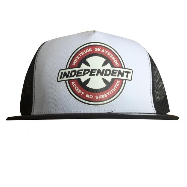 Independent X Westside Hat White