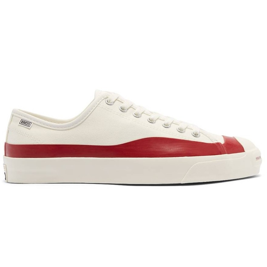 Jack Purcell Pro PTC Ox (Egret/Red Dahlia/Egret)