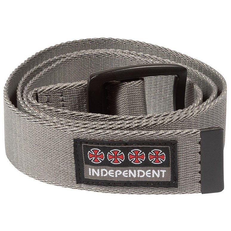 Manner Web Belt (Dark Charcoal)