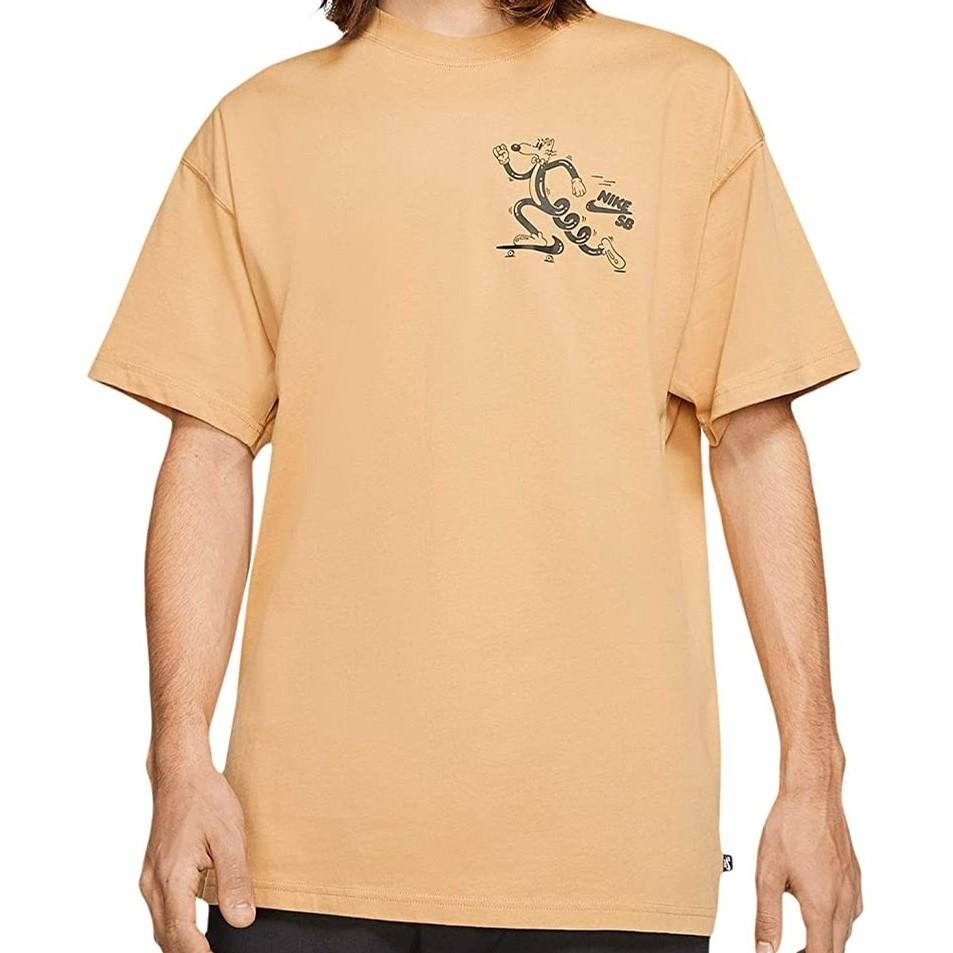 Nike SB Herrington Tee (Club Gold/Black)