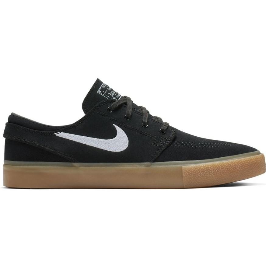 Nike SB Zoom Janoski RM (Black/White-Black-Gum Light Brown)
